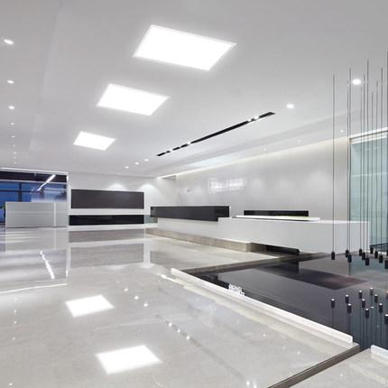 Bóng đèn LED trần vuông  Đèn panel 600x600 tích hợp đèn led lưới tản nhiệt trần đèn nhúng đèn panel