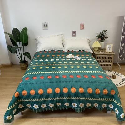 DUXIN Drap giường Nam triều tiên pha lê giường trực tiếp nổ mùa thu và mùa đông giữ ấm và chống trượ