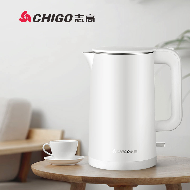 Chigo Zhigao hot kettle household 1.7L automatic cut off electric kettle 304 Stainless Steel Anti dr