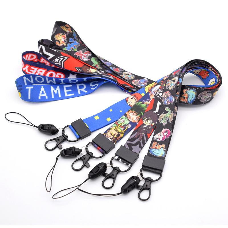 BOCHEN Cartoon mobile phone rope customized mobile phone sling Apple mobile phone neck cartoon hangi