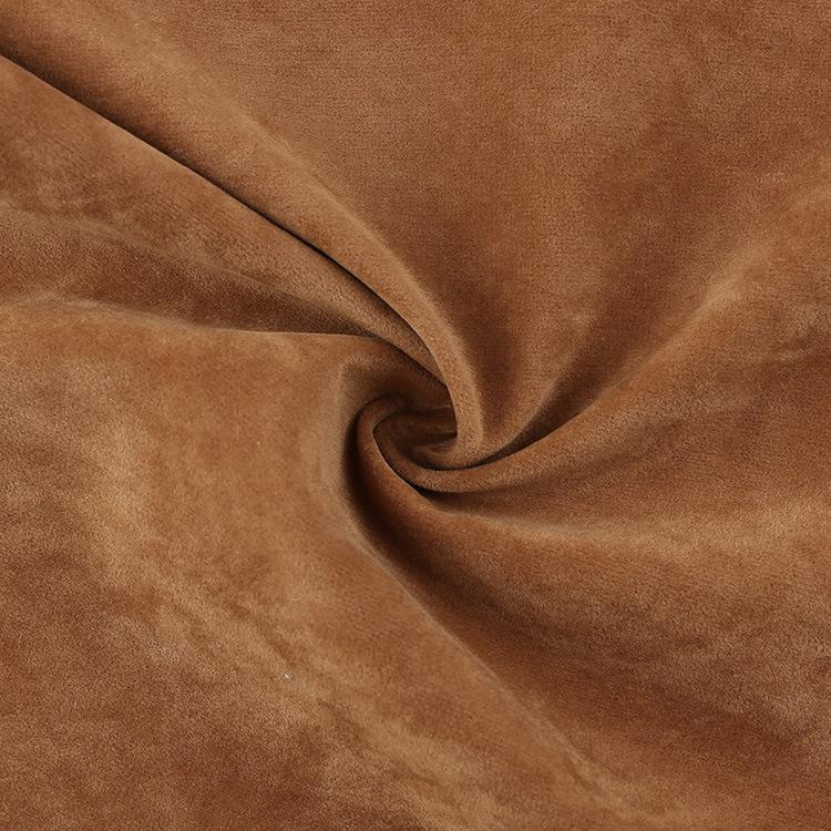 SONGHONG Frosted washed flocked sofa shoe fabric car cushion bundle pocket fabric