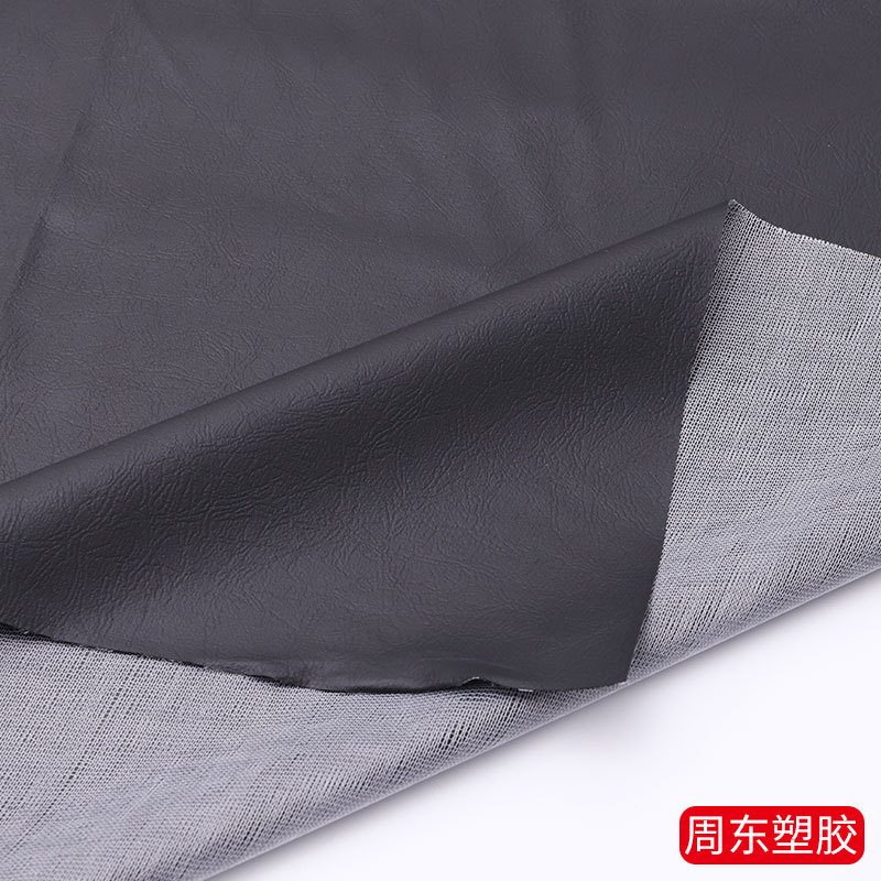ZHOUDONG A4 synthetic leather bright white crab shell leather fabric PVC artificial leather bags