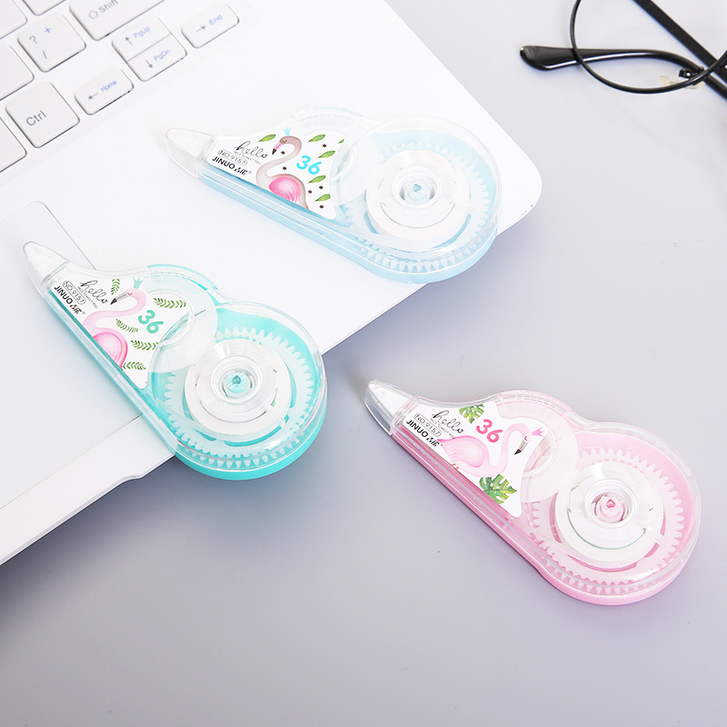 Able Kids Gino Flamingo correction tape 9157 primary school correction tape erasure tape creative co