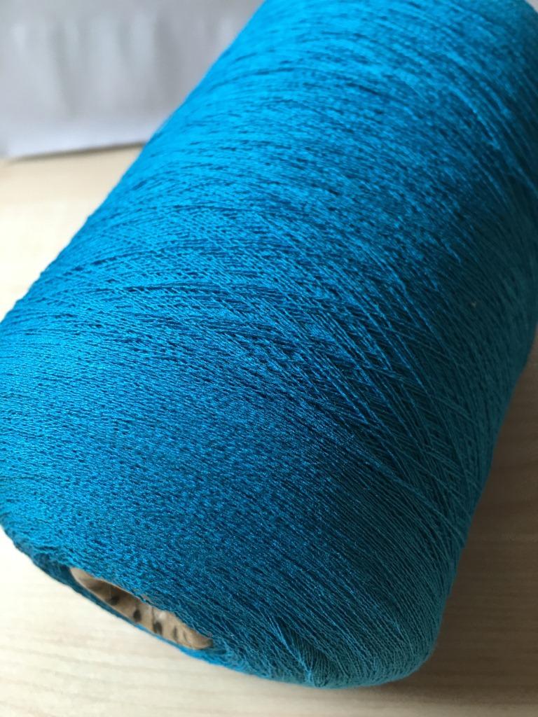 Silk viscose yarn 60NM / 2 spun viscose blended yarn 55% spun silk 45% viscose