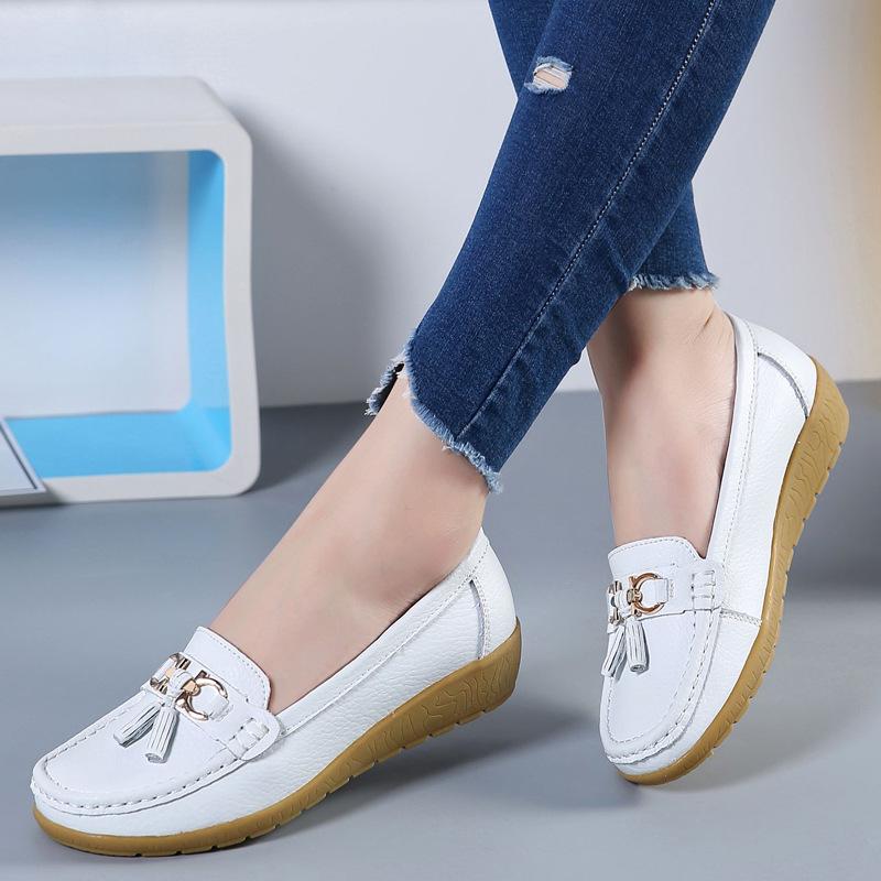 Giày mọi nam da mềm kiểu dáng sang trọng dành cho công sở