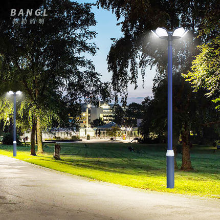 Đèn LED chiếu sáng công cộng  Đèn LED sân vườn 3m ngoài trời, đèn cảnh quan công viên đặc trưng, đ