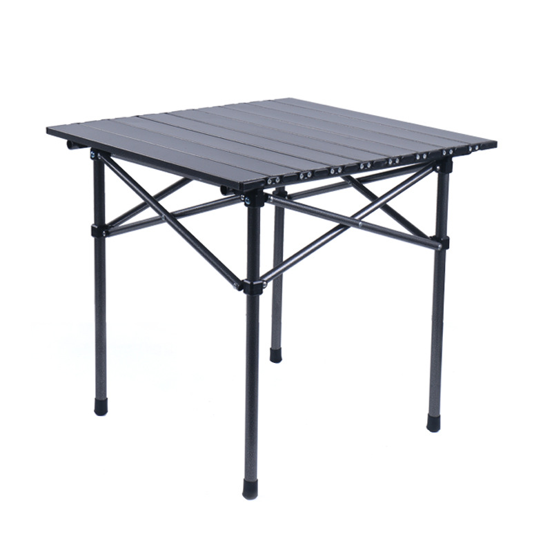YLSL Folding table and chair set outdoor portable ultra light aluminum camping table camping supplie