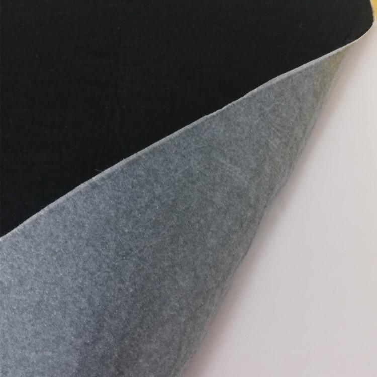 CHAODA Back glue felt 1-5mm black white gray felt cloth processing adhesive self-adhesive felt sheet