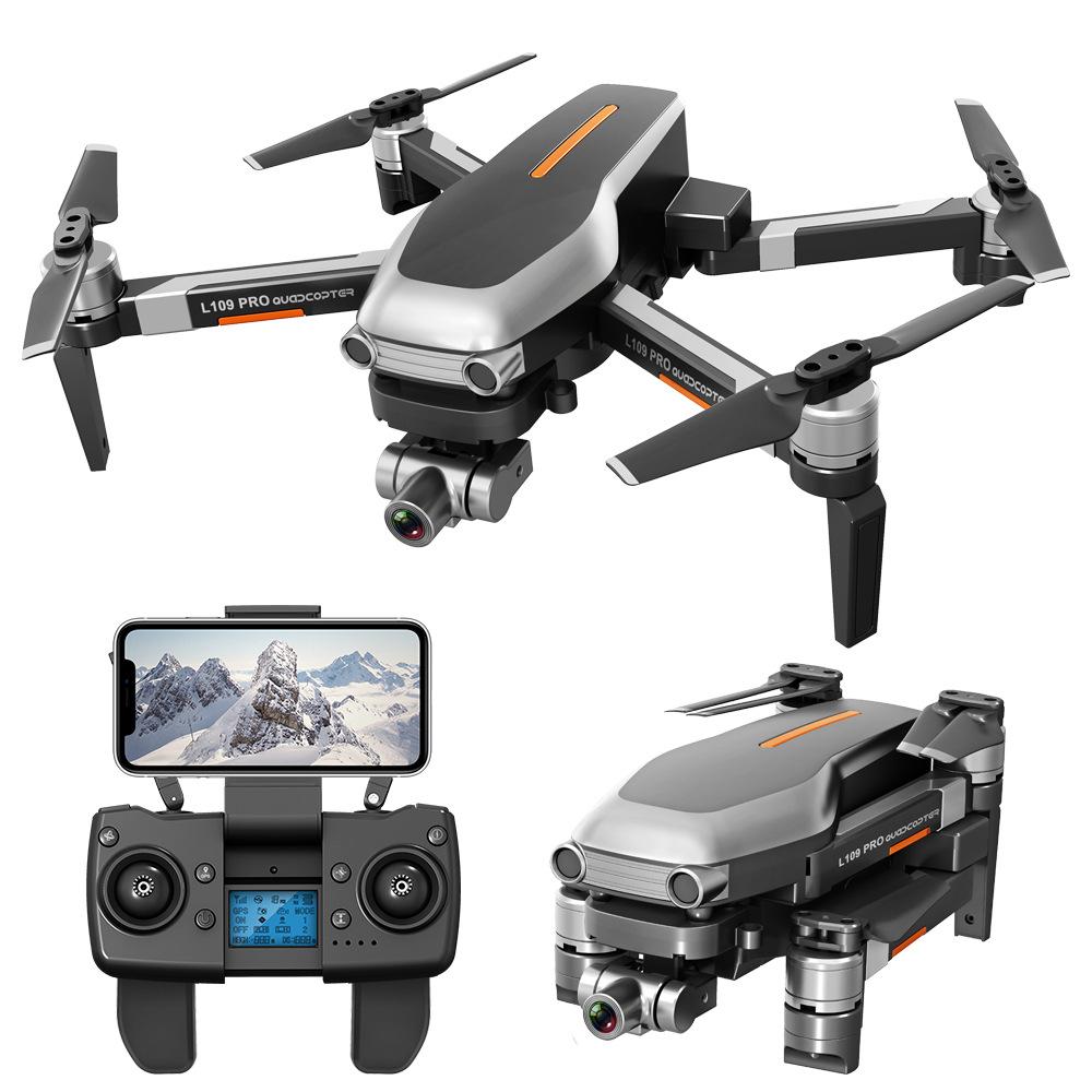 LYZRC Folding UAV 4K professional HD aerial remote control aircraft 2-axis anti shake pan tilt GPS 4