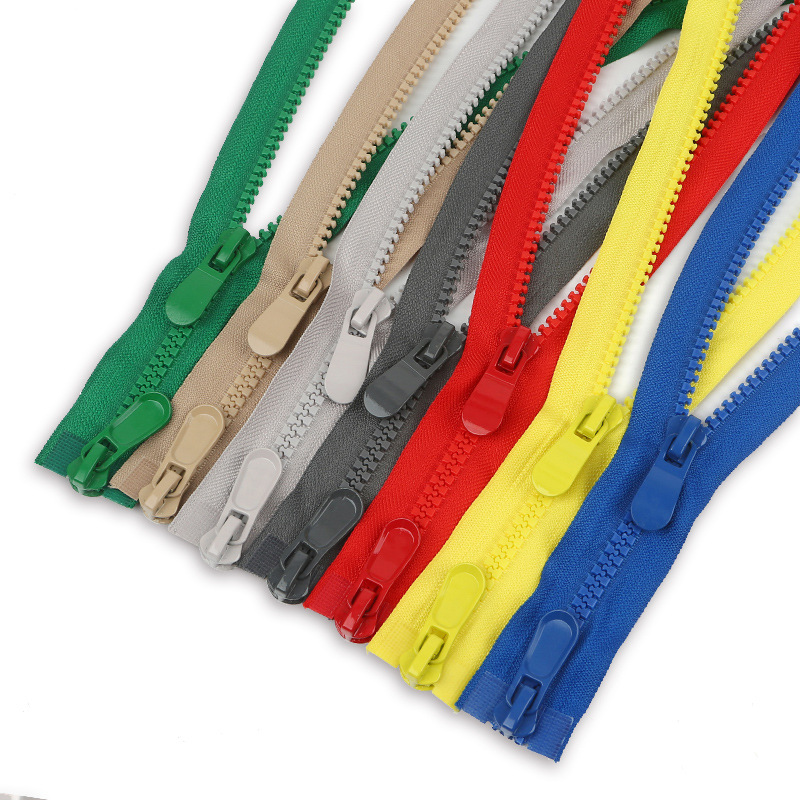 HONOURROSE 8 color zipper double head resin zipper 120cm long down jacket zipper double open jacket