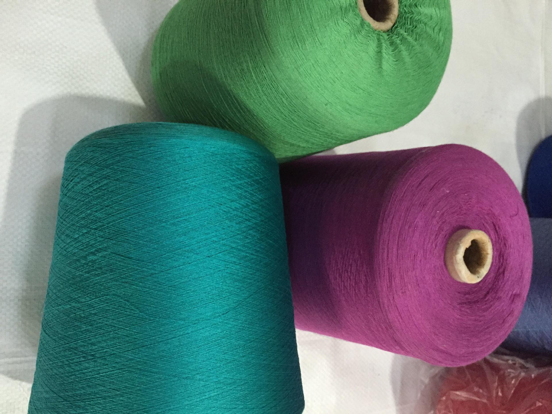 Jinyi silk spinning high quality yarn 60 Count silk cotton yarn 55 spun silk 45 cotton silk silk cot