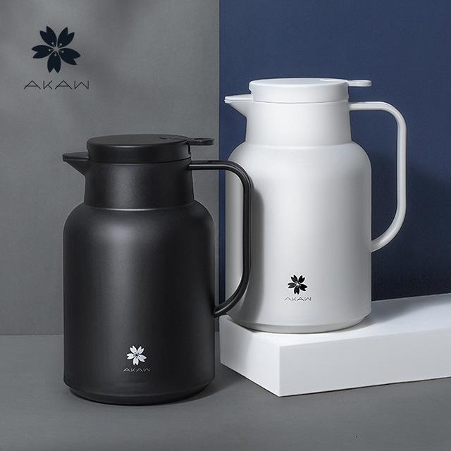 Japan akaw aijiawu glass inner heat preservation kettle