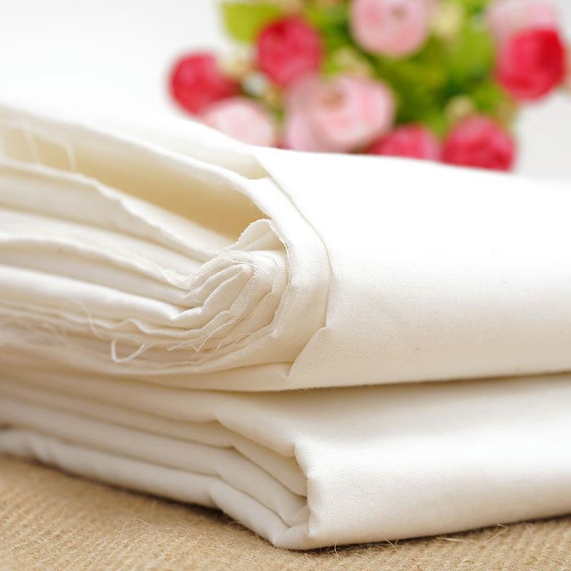 SHENGBIXIANG TC bleached grey fabric dyed grey fabric spot plain air jet grey fabric blended with ex