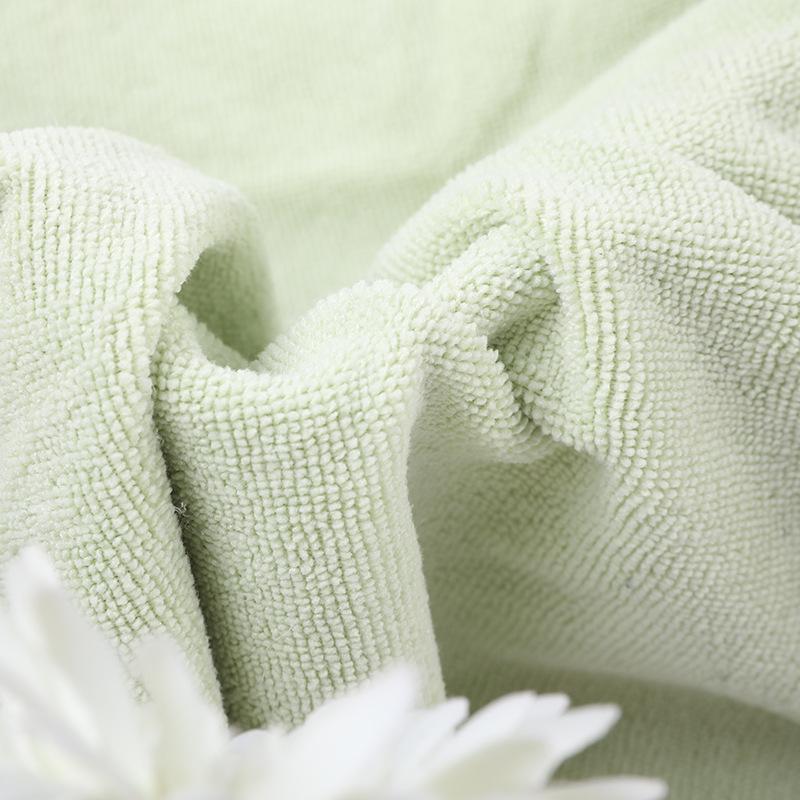 Superfine fiber towel cloth 250g towel cloth household clothing Pajama bathrobe fabric