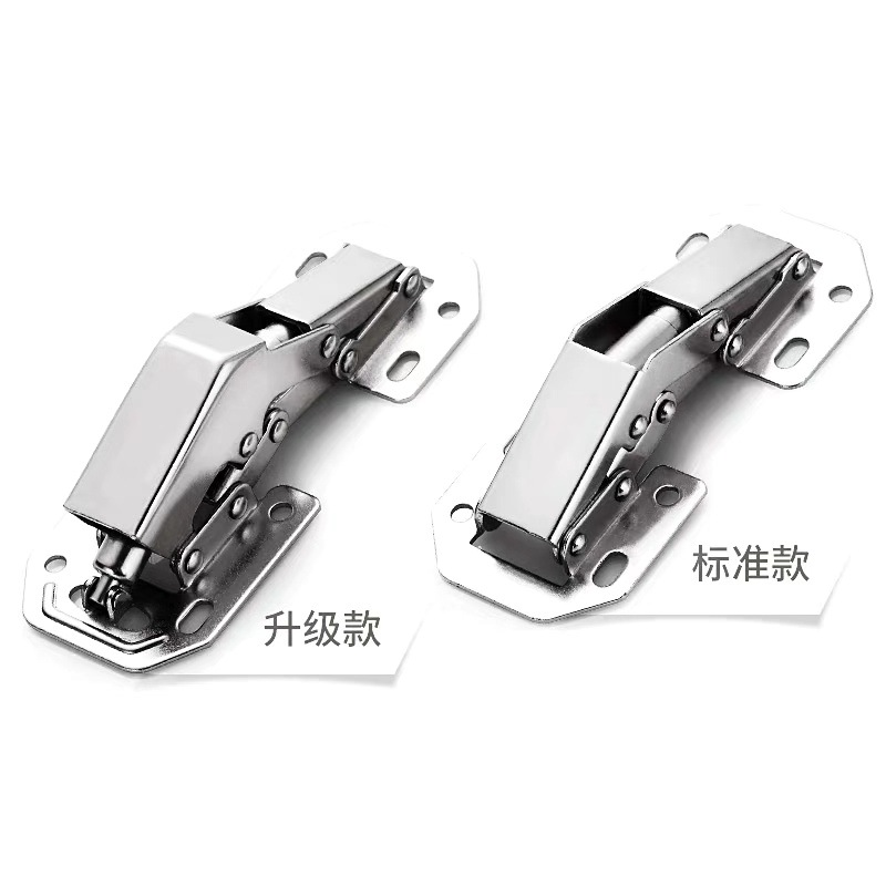 AMI Cabinet door aircraft hinge non punching damping hydraulic buffer hinge hardware folding cabinet