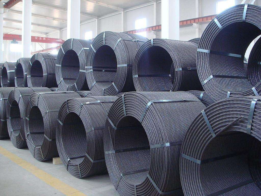 Prestressed steel strand, bridge steel strand and mine steel strand have complete specifications