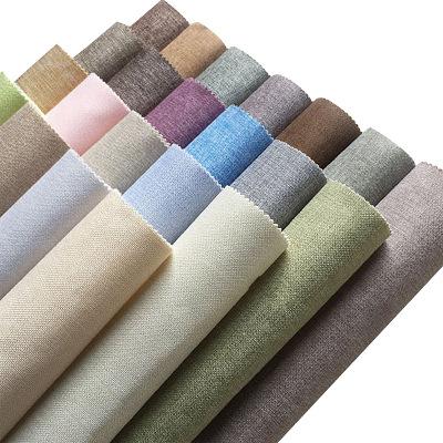 BULAINI Giấy dán tường Vải lanh treo tường vải lanh mịn vải gai dầu liền mạch phòng ngủ tinh khiết s