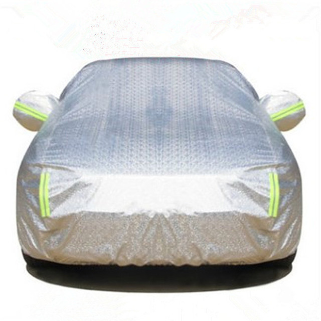 Car thickened car clothing car cover drying car cover water car cover Oxford cloth car clothing alum