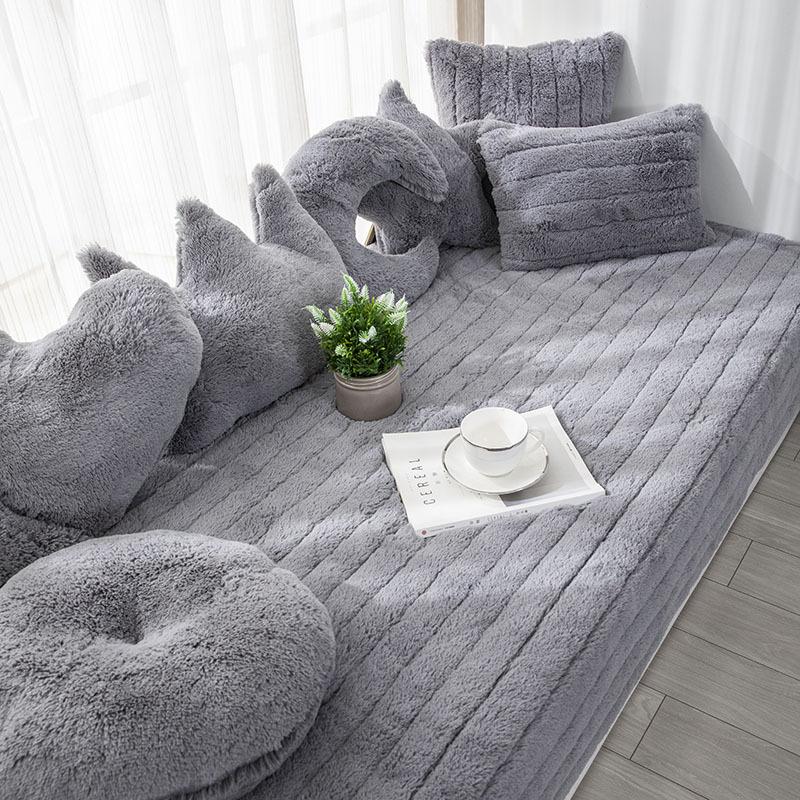 HUAJIYUN Bay window mat windowsill mat customized balcony mat blanket tatami four seasons cushion so