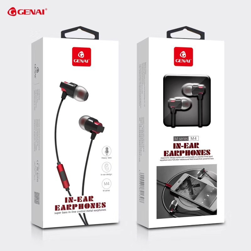 GENAI Genet m headset m1m2m3m4 for iPhone and Android