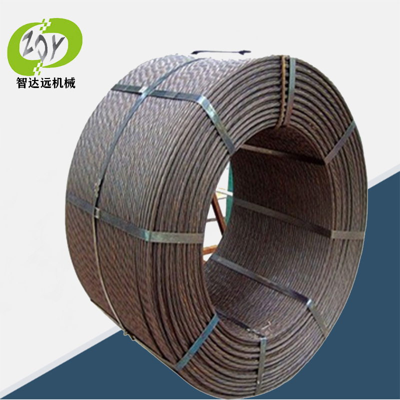 ZDY 15.2 type bridge steel strand prestressed steel strand structural cable galvanized steel strand