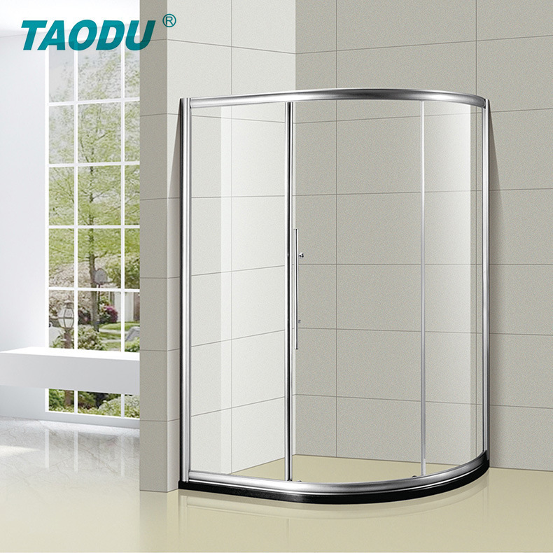 TAODU Hotel tempered glass sanitary ware guest room knife shower room