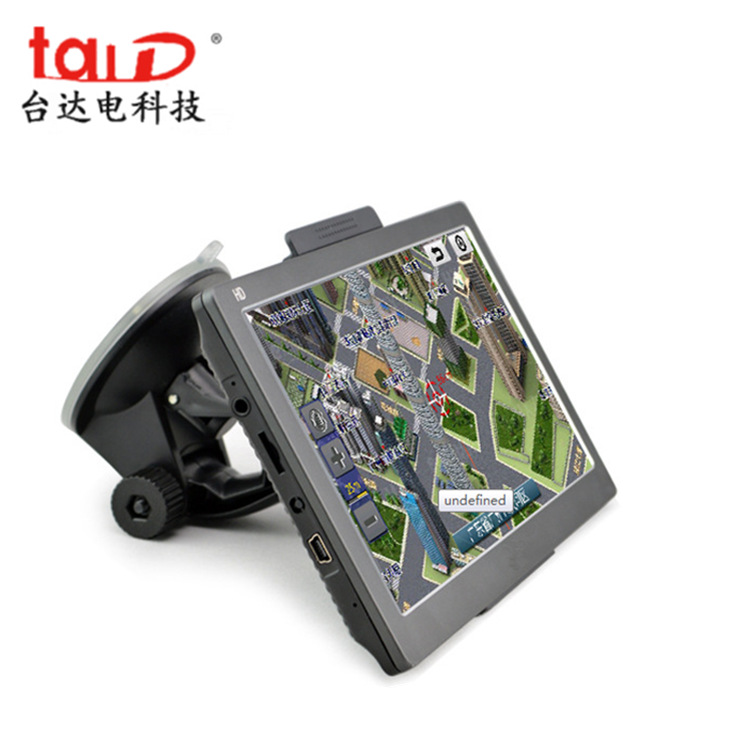 7-inch GPS navigator truck dedicated portable GPS navigator exported to North America, Europe, Russi