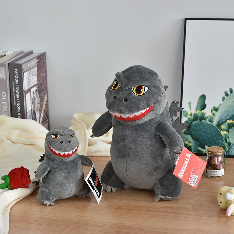 Godzilla doll cute dinosaur Little Monster Plush Toy Movie same doll children's doll gift