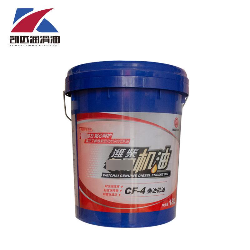 Weichai engine oil 18L Weichai vehicle oil CF-4 light truck engine oil 15w-40