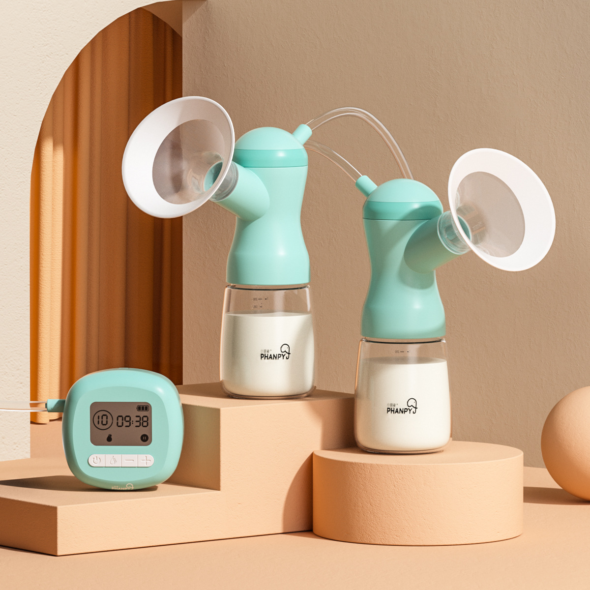 Máy hút sữa điện song phương Xiaoyaxiang thiết bị vắt sữa sau sinh