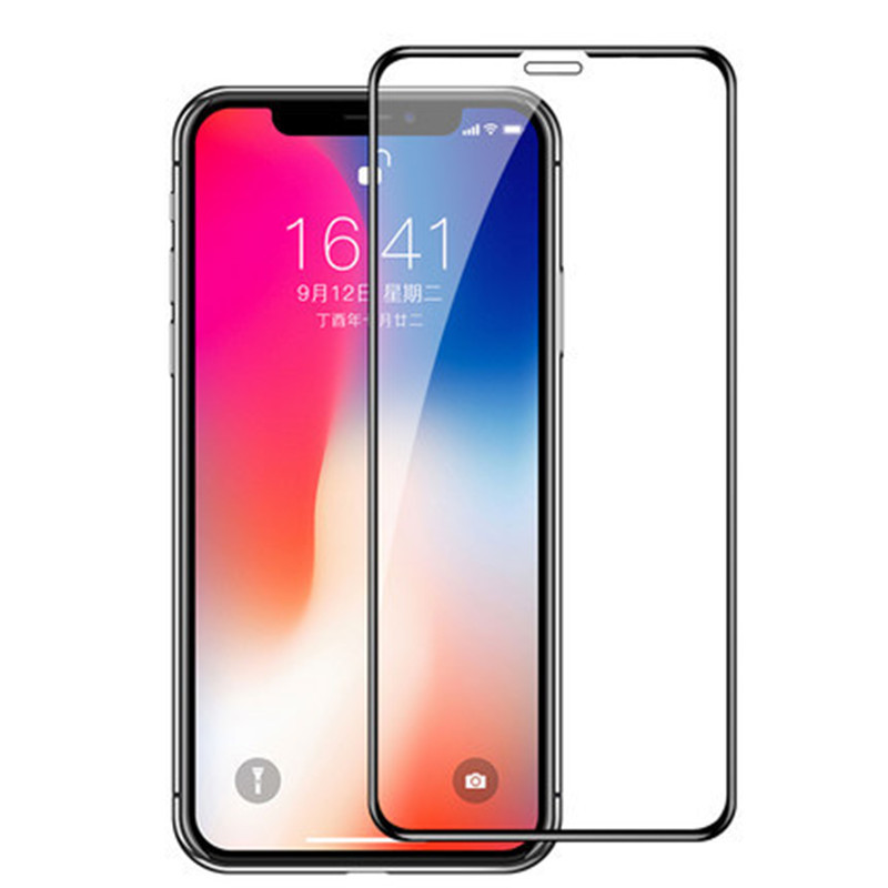 Suitable for iPhone x toughened film Apple 12 toughened film XR / xsmax toughened glass high definit