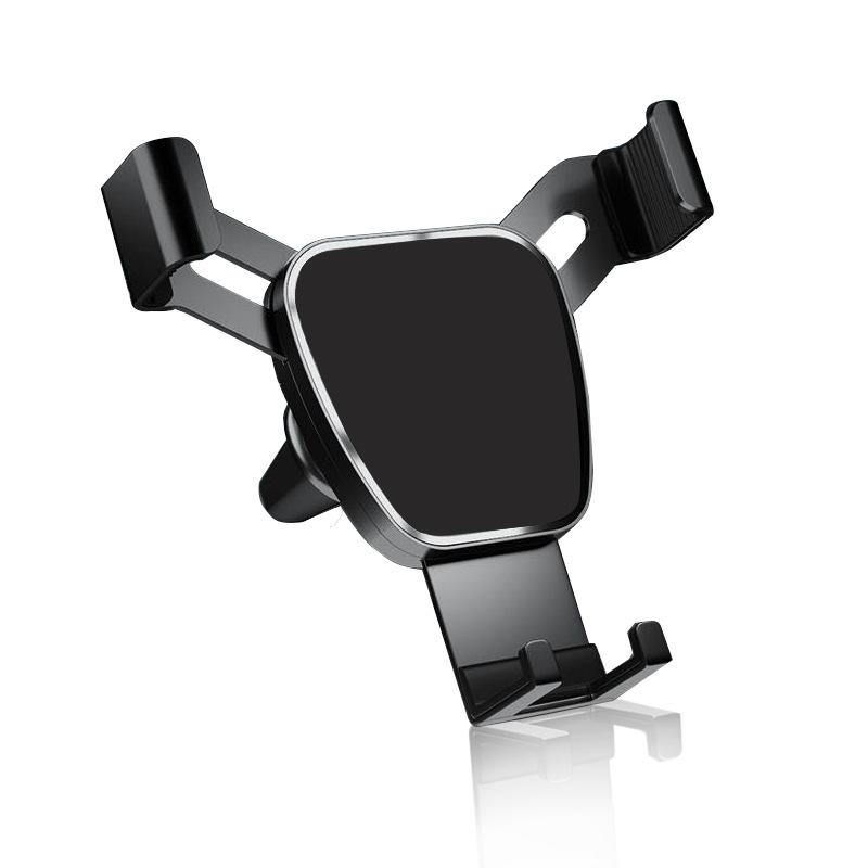 YITAI Creative new car mobile phone bracket air outlet metal gravity bracket car mobile phone naviga