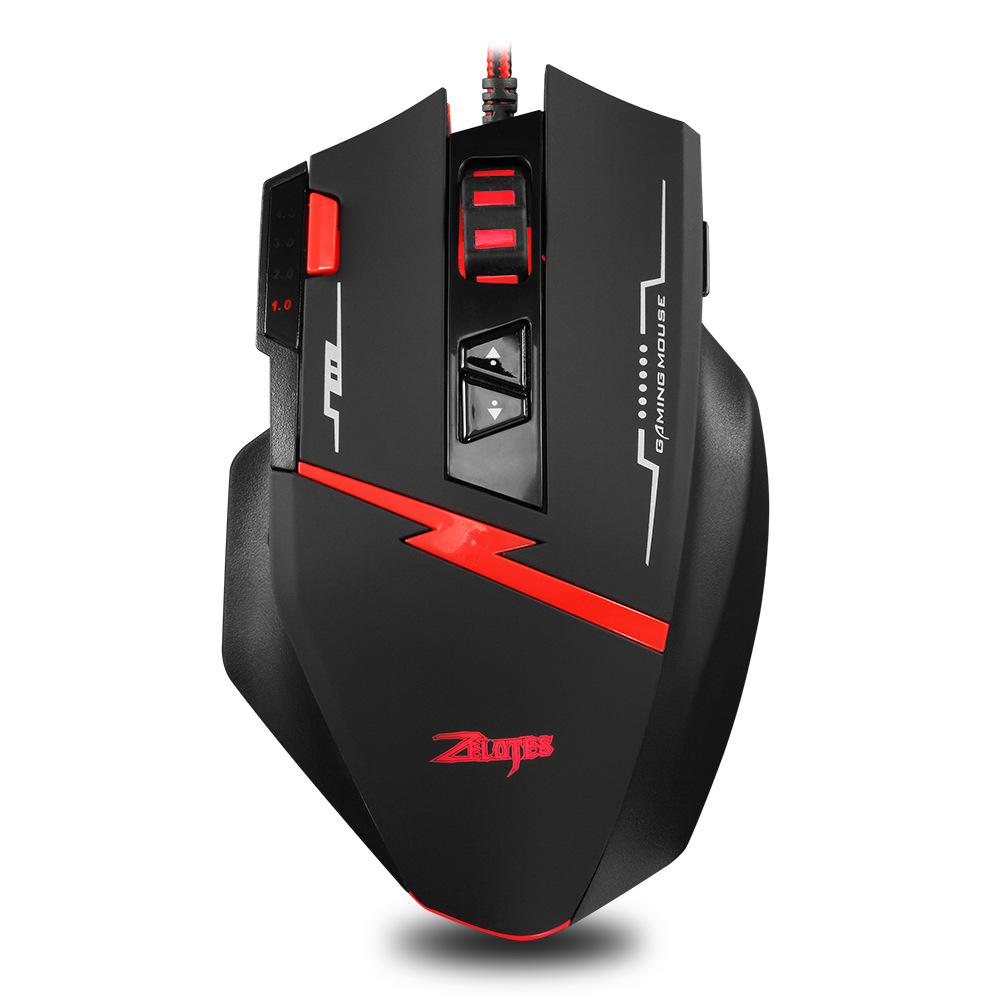 Zelotes master C8 mouse 8 key game programming Mouse Custom gun pressing mouse private model mouse