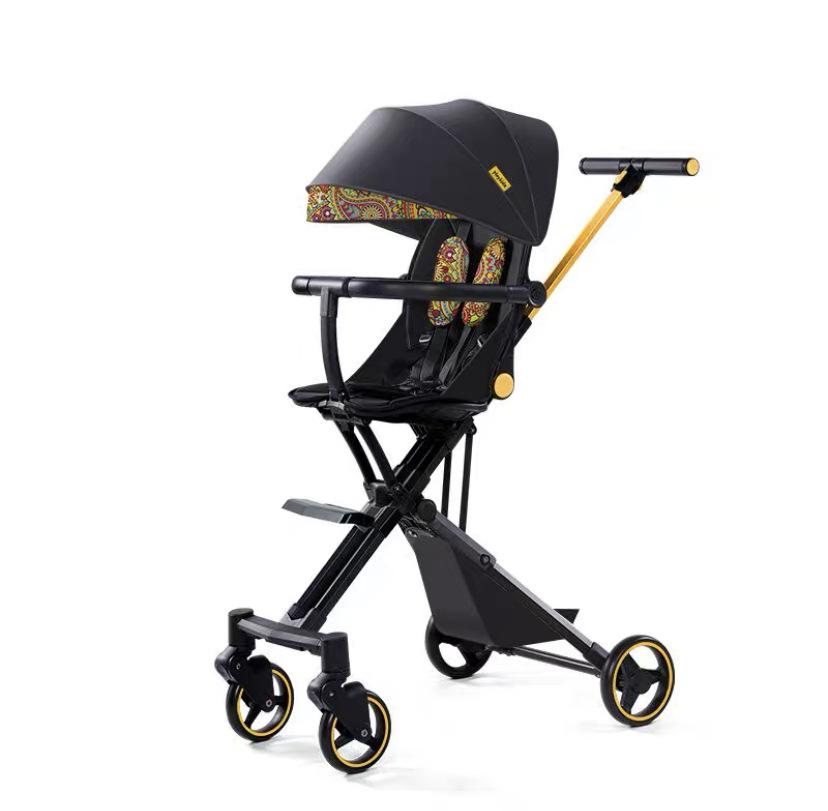 Xe đẩy em bé kiểu dễ gấp di động cao cấp .