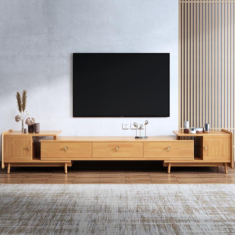 SUDI Nordic solid wood TV cabinet modern simple floor cabinet living room bedroom audition cabinet s