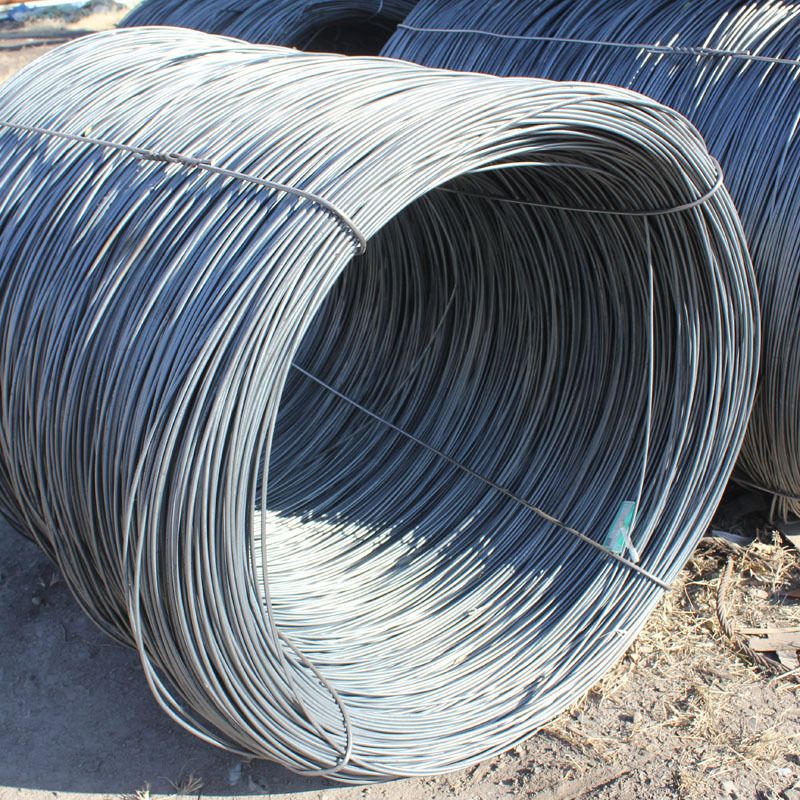 Spiral steel wire rod for construction site
