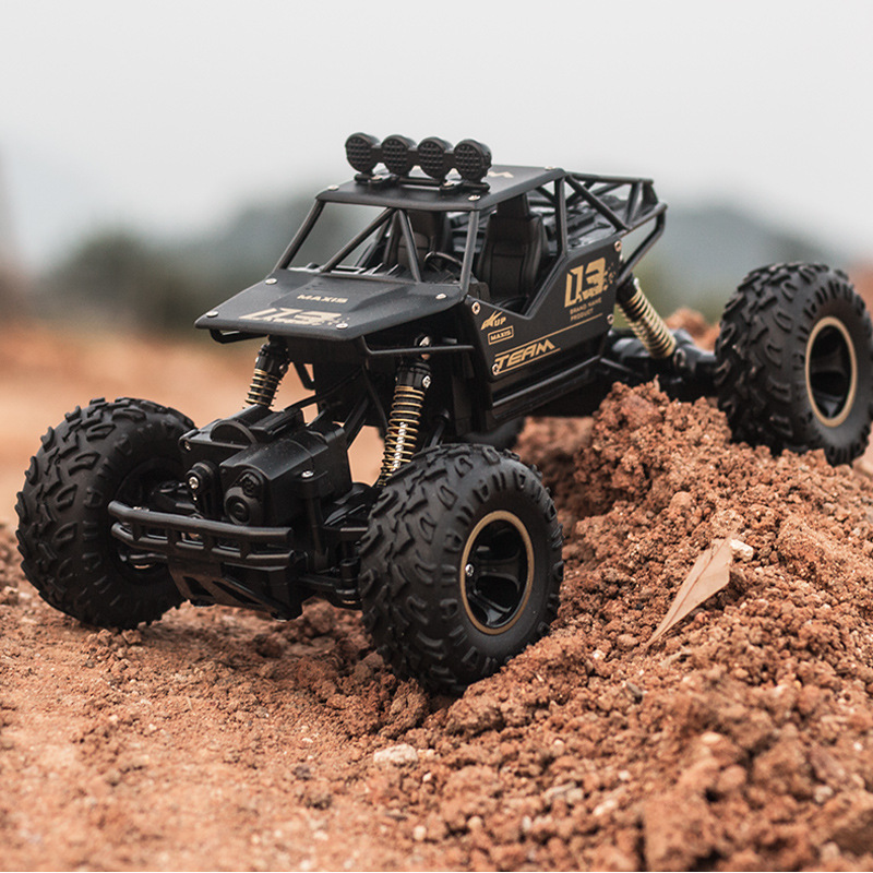 SHUANGFENG Alloy climbing mountain Bigfoot 4WD remote control vehicle toy model 1:16 off road vehicl
