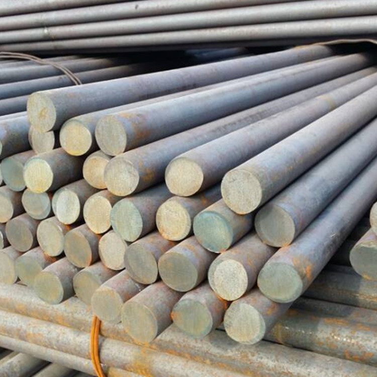 Cutting of Q235B hot rolled round steel for building