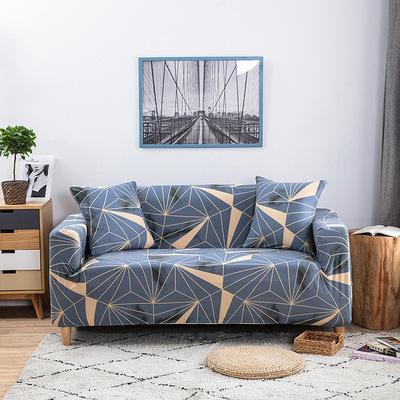 ZB Vỏ bọc Sofa Các nhà sản xuất bán kết hợp phòng khách theo phong cách mục vụ đồng màu căng da bọc