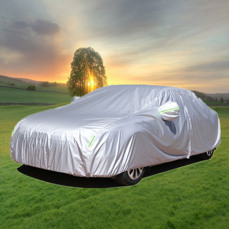 XINMAO 190T polyester taffeta Oxford car cover with heat insulation, sunscreen, waterproof and dustp