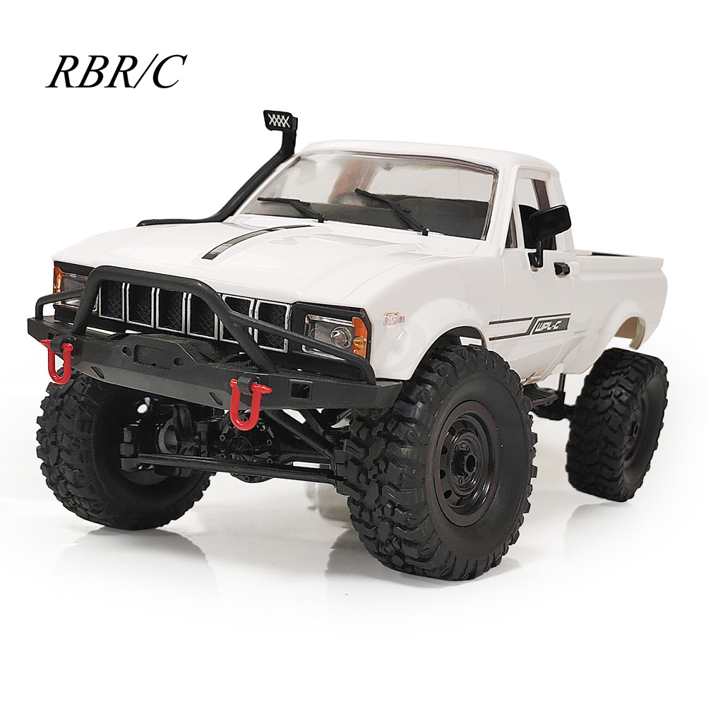RBR / C naughty dragon c24-1 full scale pickup 4WD climbing remote control car model toy