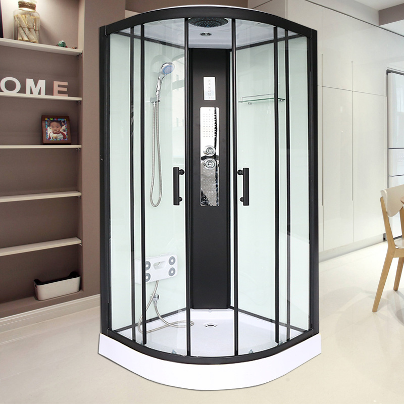 Cadissa integrated shower room integrated mobile bathroom simple tempered glass partition household