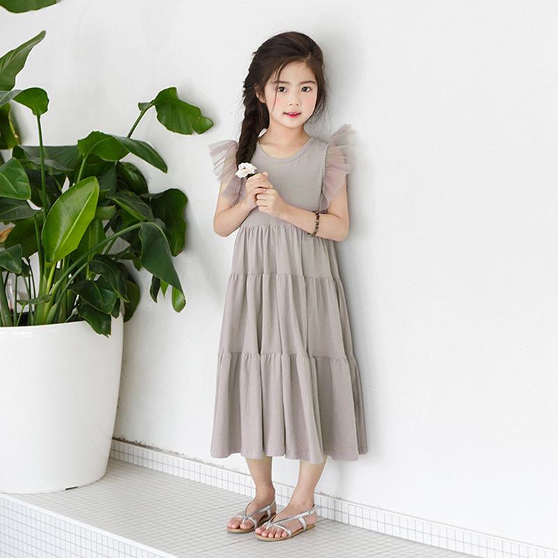 MY GIRL MY BOY New children's dress in summer of 2019 girls' Korean skirt