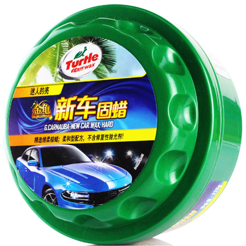 Turtle Polish, remove dirt and scratch on the wax of American turtle brand new car