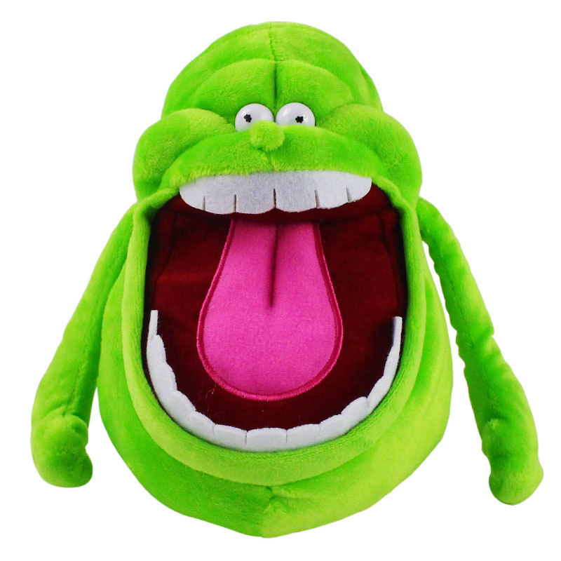 YIYOU Doll ghost catcher green ghost plush toy animation surrounding cartoon cute children's pillow