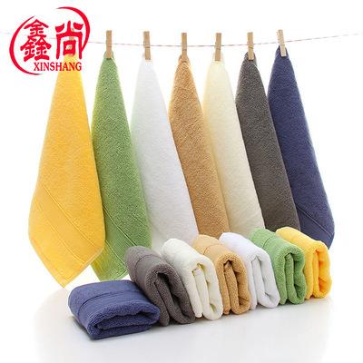 XINSHANG khăn lau tay Chải bông khăn vuông nhỏ dày thấm nước quà tặng khách sạn khăn nhỏ khăn tay, n