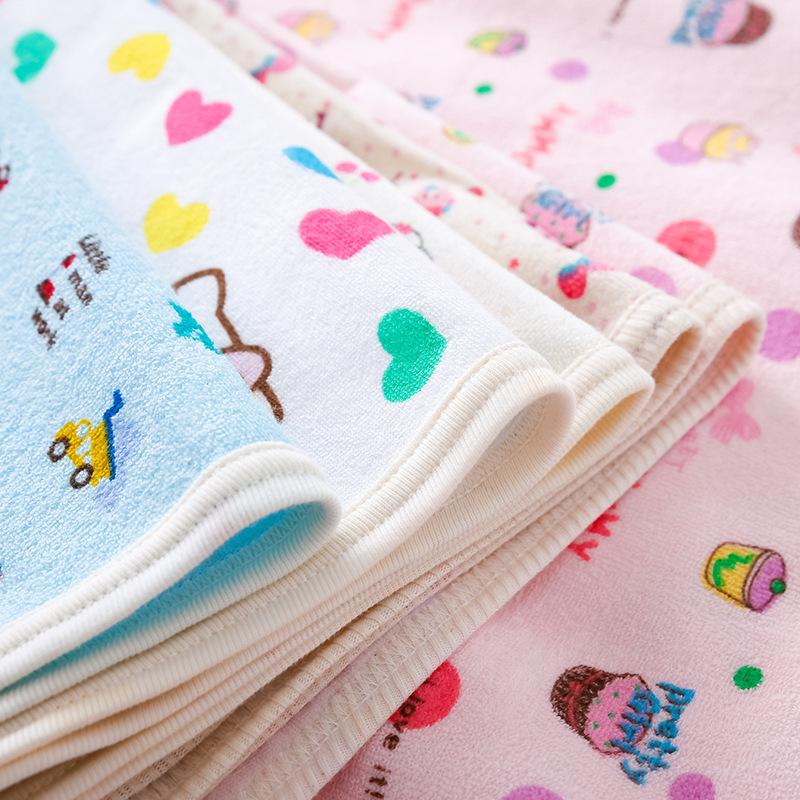 Single layer newborn cotton wool ring diaper pad infant diaper pad 70 * 120 waterproof diaper pad fa