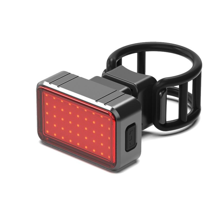 Đèn hậu gắn đuôi xe đạp sạc pin USB .
