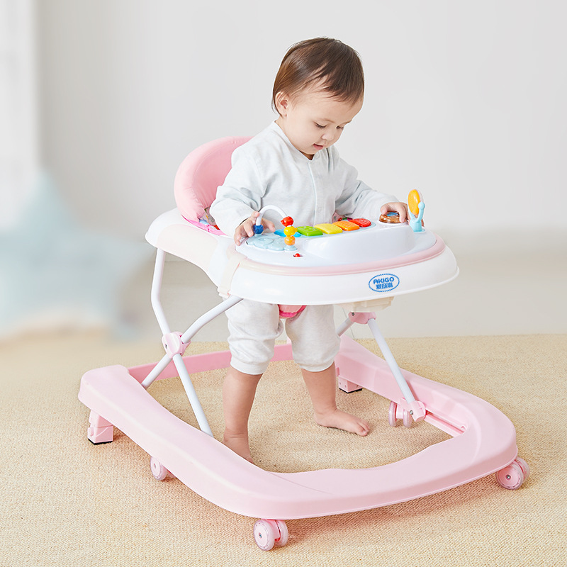 AKIGO Toddler anti-o-leg children learn to drive girl baby can push and sit baby can walk multi-func
