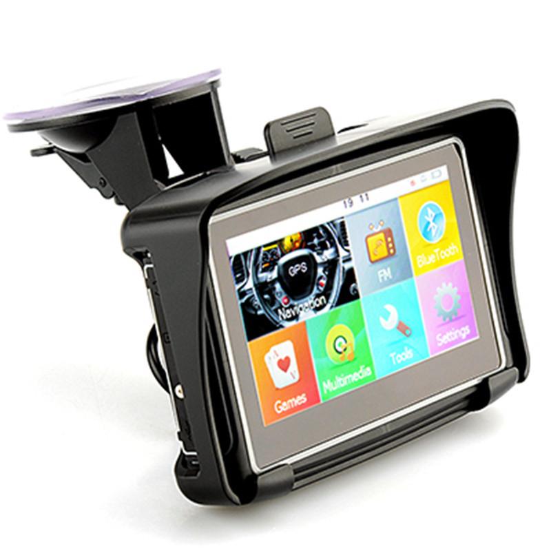 Supply 4.3-inch GPS motorcycle borne voice navigation grade 7 waterproof multi-function portable nav